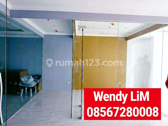 (FOR LEASE) RUANG KANTOR DISTRICT 8 - SCBD uk. 133 sqm ( FITTING OUT ) , IDR. 350 rb/m2/bln, SCBD, Jakarta Selatan