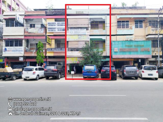 2 Unit Ruko Gandeng Kawasan Bisnis Jln Kol. Atmo Palembang, Ilir Timur I, Palembang