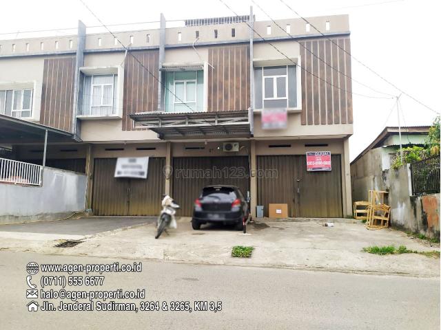Ruko Bagus 2,5 Lantai Siap Pakai Jln Sukabangun I Palembang, Ilir Timur I, Palembang
