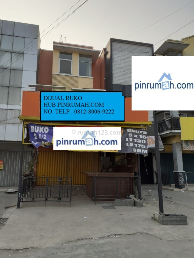 RUKO DI JATI MULYA, LT 130 m2 (HUB: 0812-8006-9222) NUGI PR 32087, Jatimulya, Bekasi