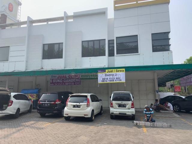 Ruko 2 lantai gandeng 6 unit di jl. satu maret (dekat citra 3), kalideres, jakarta barat, Kalideres, Jakarta Barat
