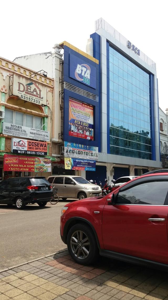 Space Lantai(i)Lokasi Prima*Kantor*Sbrg Ursula*Sblh BCA*Angkot, BSD, Tangerang