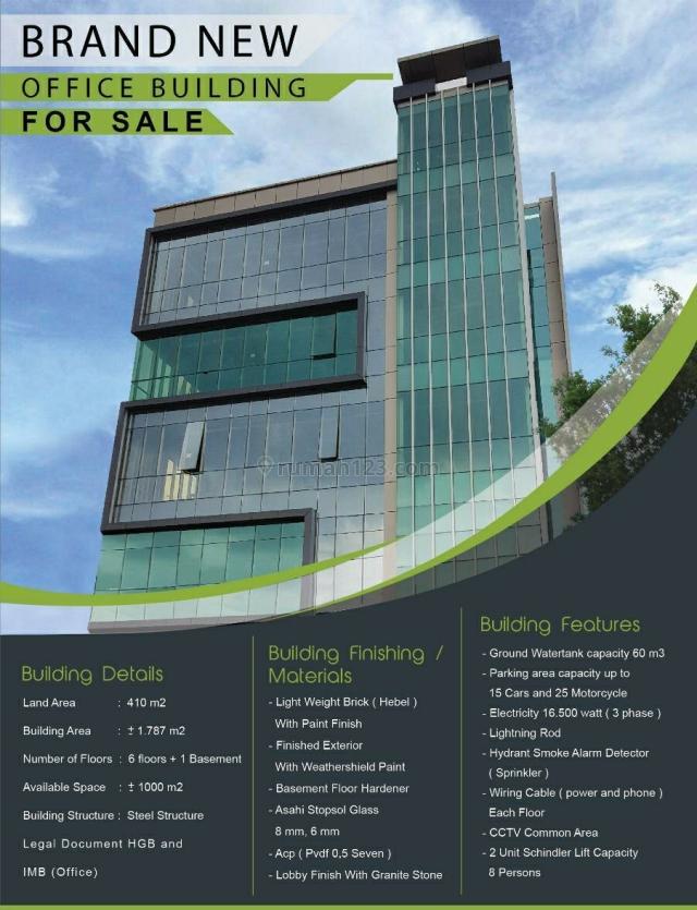 Gedung Baru di Mampang Prapatan, SCBD, Jakarta Selatan