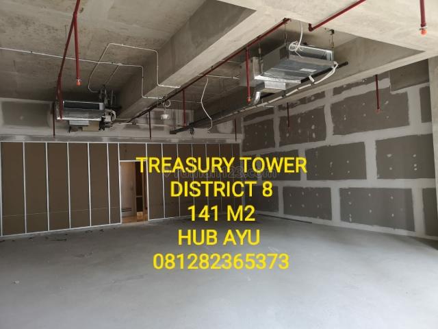 TREASURY TOWER, 141 M2, BARU!, HUB AYU 0812 82365373, SCBD, Jakarta Selatan