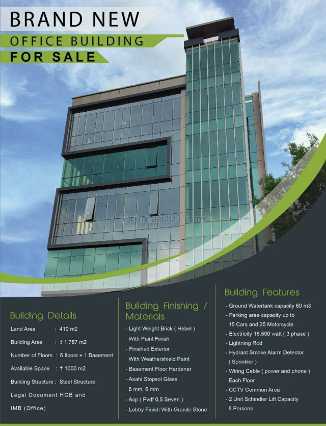 Gedung Baru di Mampang Prapatan, Tebet, Jakarta Selatan