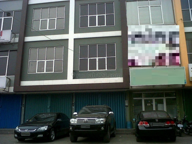 (GA5151-HR) Ruko 3 Lantai, Lokasi Strategis, Parkiran Luas di Joglo, Joglo, Jakarta Barat