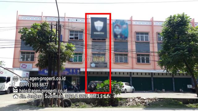 1 Unit Ruko Jln. Alamsyah Ratu Prawiranegara Poligon Palembang, Ilir Barat I, Palembang