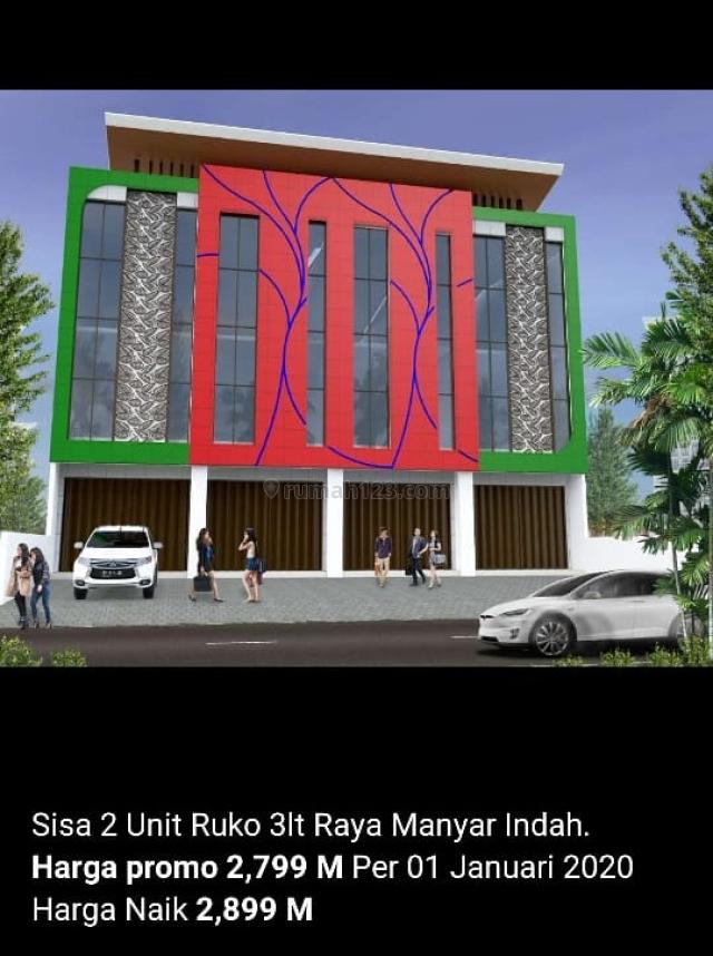 Ruko Raya Manyar Indah dekat MERR Baru Gress !, Sukolilo, Surabaya