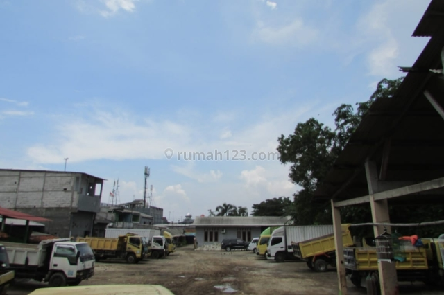 Tanah plus bangunan cocok untuk gudang, Cilincing, Jakarta Utara