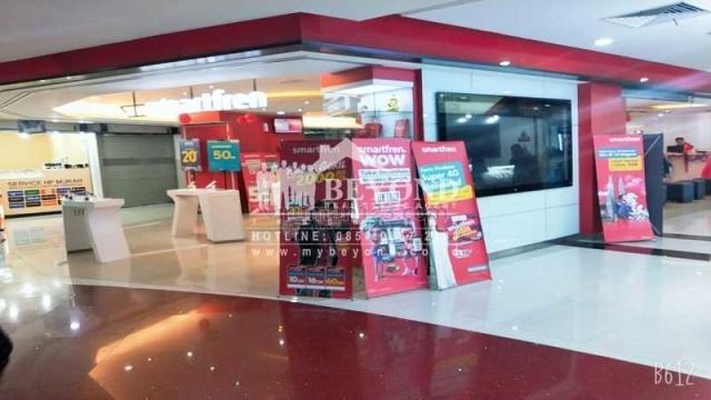 Kios Strategis BEC Lantai Utama Menguntungkan Area Bandung Purnawarman, Wastukencana, Bandung