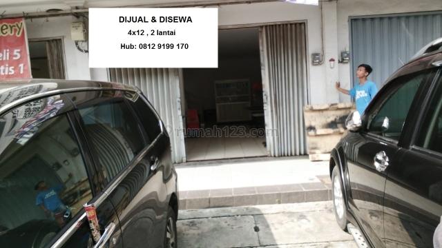 Ruko 4x12 di Psr Bersih Cengkareng, Jakbar, Cengkareng, Jakarta Barat