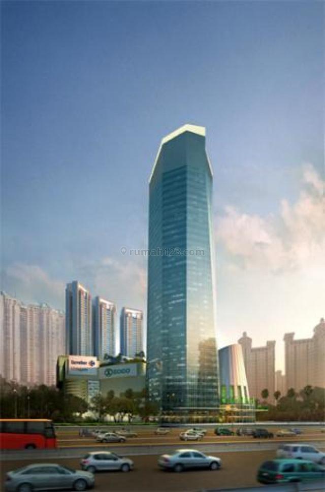Office APL Tower Unfurnish Luas 550Sqm Jakarta barat Harga Nego, Central Park, Jakarta Barat