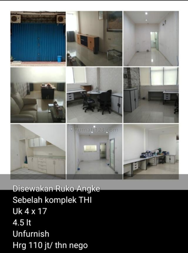 Ruko Taman Harapan Indah UK 4x17 angke jelsmbar, Jelambar, Jakarta Barat