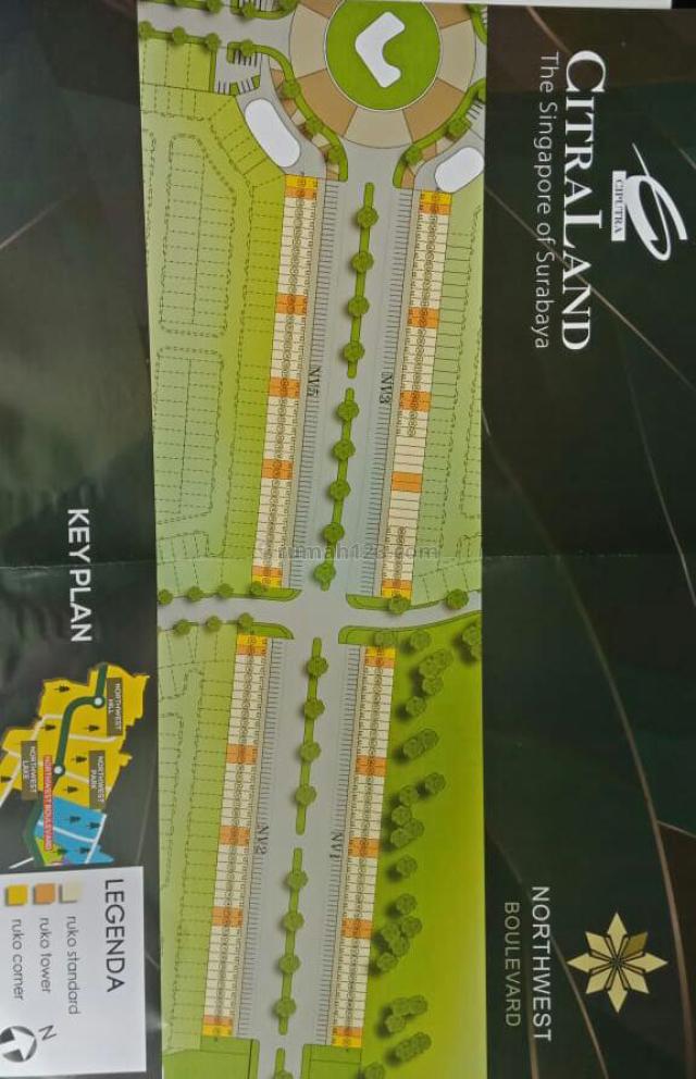 Ruko North West (LA102) F00, Pakal, Surabaya