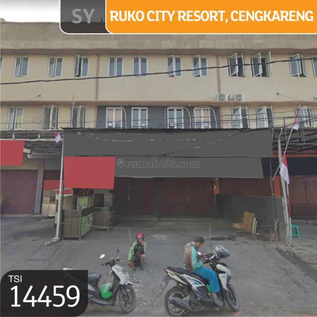 Ruko City Resort, Cengkareng, Jakarta Barat, 4,25x15m, 1 Lt, SHM, Cengkareng, Jakarta Barat
