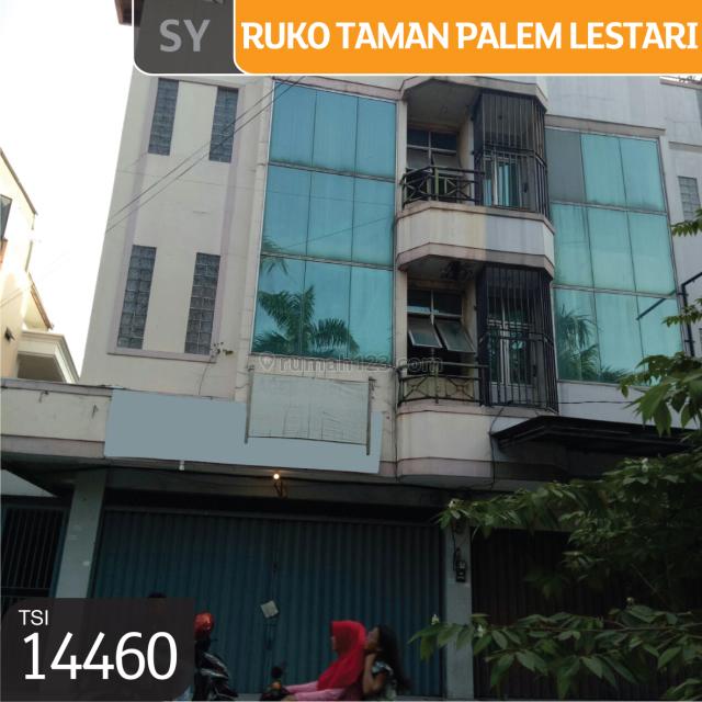 Ruko Taman Palem Lestari, Cengkareng, Jakarta Barat, 6x7m, 1 Lt, SHM, Cengkareng, Jakarta Barat