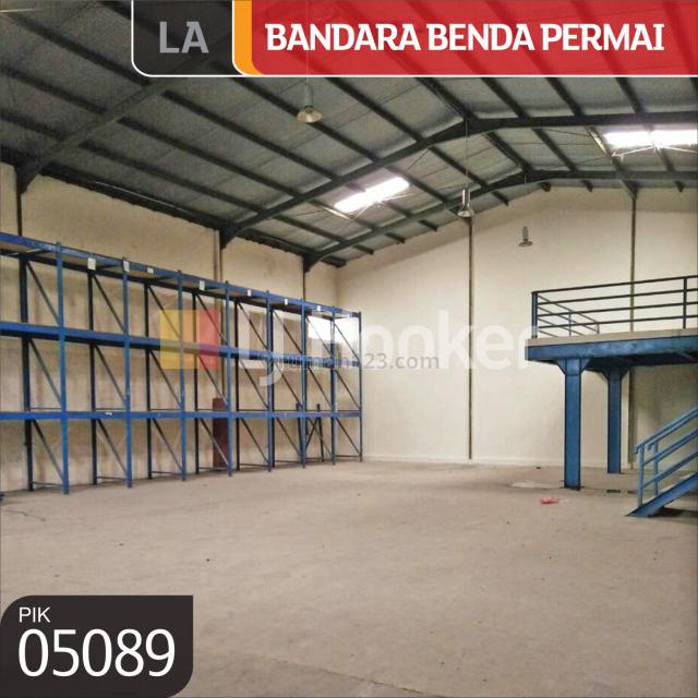 Gudang Pergudangan Bandara Benda Permai, Jl. Perancis, Dadap, Tangerang, Benda, Tangerang