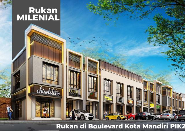 Ruko milenial exclusive pik 2 berlokasi strategis, Pantai Indah Kapuk, Jakarta Utara