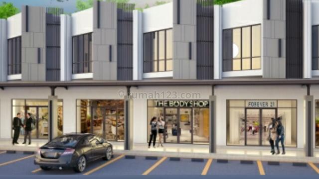 Ruko komersil dekat jalan provinsi dan rencana toll baru, Modernland, Tangerang