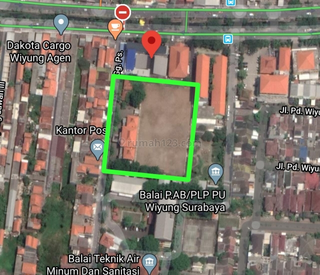 (BUL) Gedung Raya Menganti Wiyung Luas, Surabaya, Wiyung, Surabaya