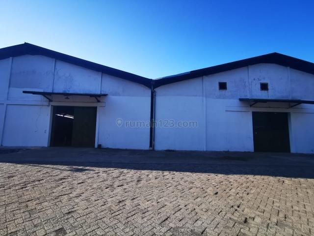 Gudang Gedangan Besar Luas 1380 m2 - Akses Lokasi Mudah Dekat Tol Waru, Gedangan, Sidoarjo