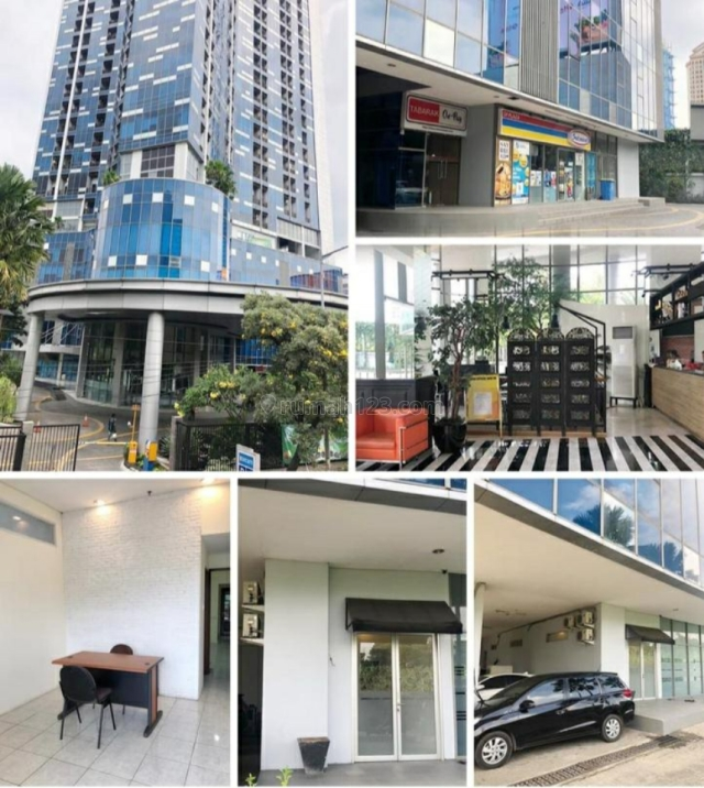 Ruang Kantor GP Plaza Luas 55m2 Lokasi Strategis & Dkt Pintu Tol Slipi, Slipi, Jakarta Barat
