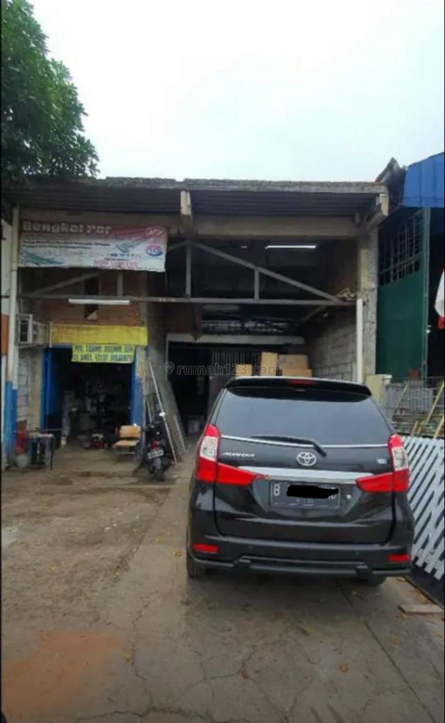 Workshop & gudang pinggir jalan raya, Bekasi Utara, Bekasi