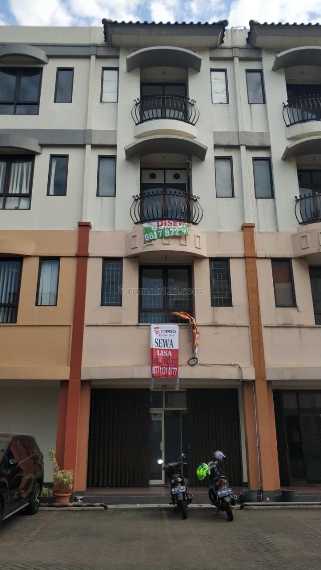 Ruko Citta Graha hanya 135 juta nego, Jalan Panjang, Jakarta Barat