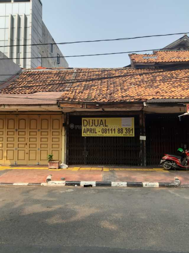 Ruko Tua Bungur Besar Selatan, Luas 91m2, Senen, Jakarta Pusat