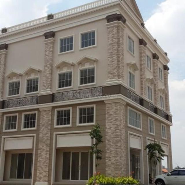 Ruko CBD, Ukuran : 6x15m2 Hoek, 4 Lantai, Hadap Jalan, Harga : 95 Juta/Thn, Green Lake City, Jakarta Barat, Green Lake City, Jakarta Barat