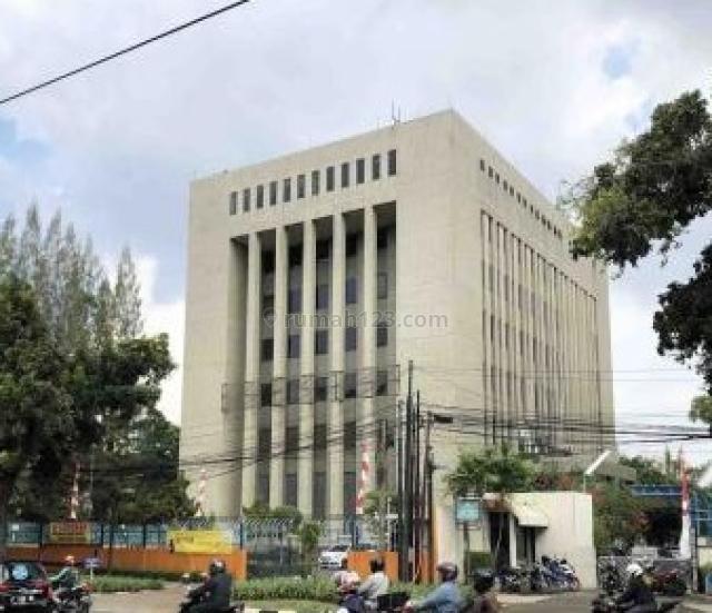 Gedung  6544m2, di Jl. Kebon Sirih Raya, Kebon Sirih, Jakarta Pusat
