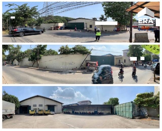 Gudang Pinggir Jalan Lokasi OK Jalan 2 Mobil di Pegangsaan Dua , Harga OK, Pegangsaan, Jakarta Utara
