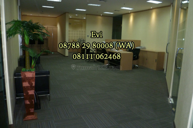 Office Space APL Tower Central Park Full Furnished Strategic Location, Central Park, Jakarta Barat