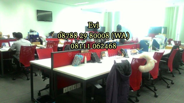 Ruang Kantor APL Tower Office Podomoro City Central Park Fully Furnished, Central Park, Jakarta Barat