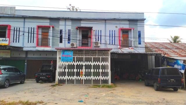 Ruko 2 lantai di tepi jalan Sepakat - Pekanbaru, Tenayan Raya, Pekanbaru
