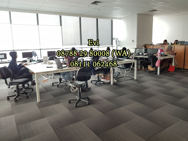 Ruang Kantor APL Tower Podomoro City Central Park Fully Furnished, Grogol, Jakarta Barat