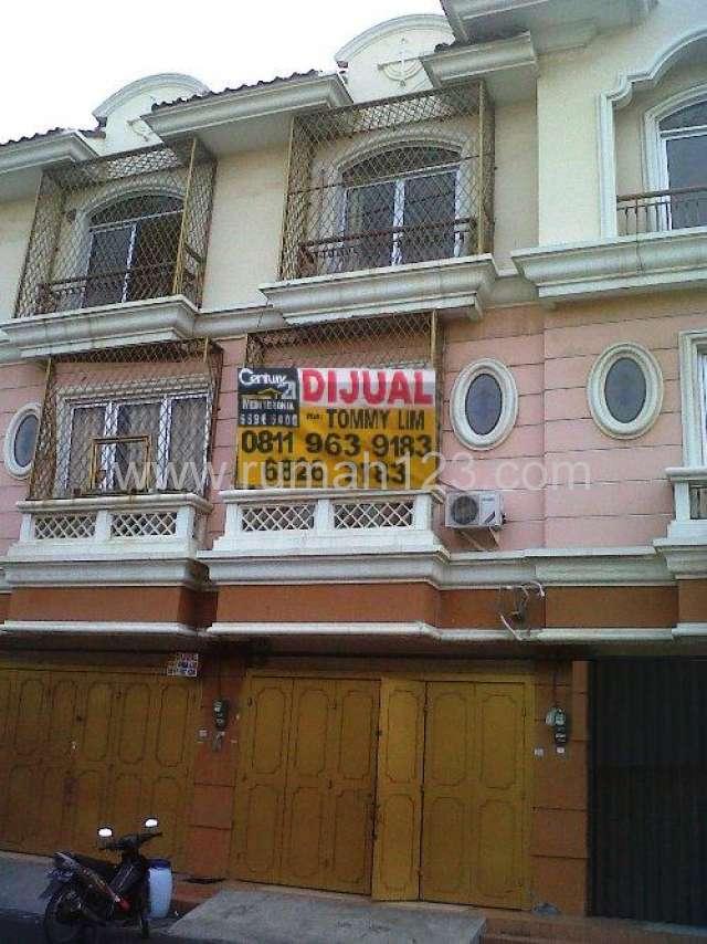 Dijual Ruko Hadap Timur - City Resort Miami, Siap Usaha, Cengkareng, Jakarta Barat