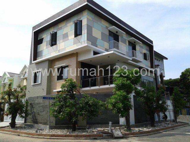 Rumah Pantai Indah Kapuk, Hoek , Bangunan Baru, Cantik, Pantai Indah Kapuk, Jakarta Utara
