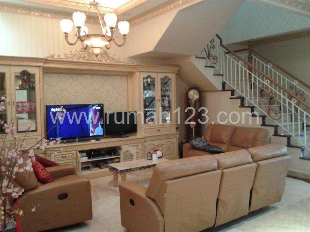 Rumah Pik - Full Furnish - Lantai Full Marmer, Pantai Indah Kapuk, Jakarta Utara