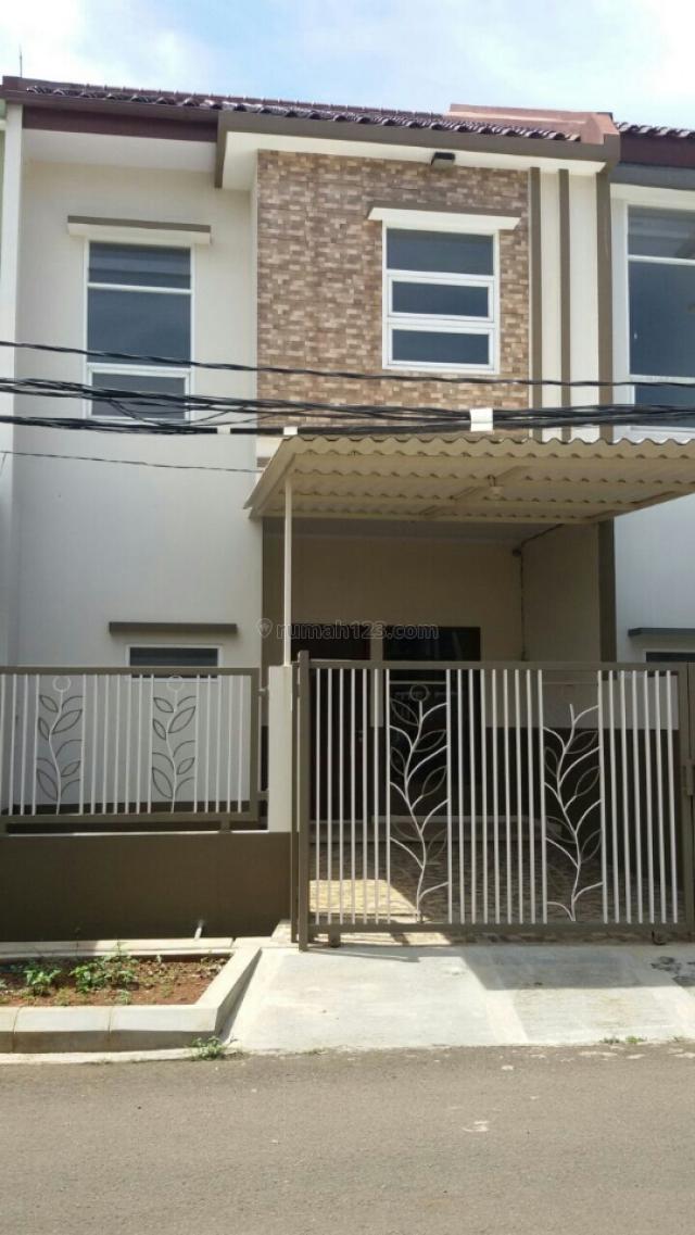 Rumah baru minimalis 2 lt Melati Mas, BSD Villa Melati Mas, Tangerang