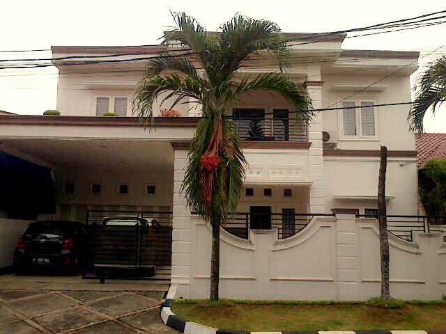 Rumah  Villa Melati Mas, BSD Villa Melati Mas, Tangerang