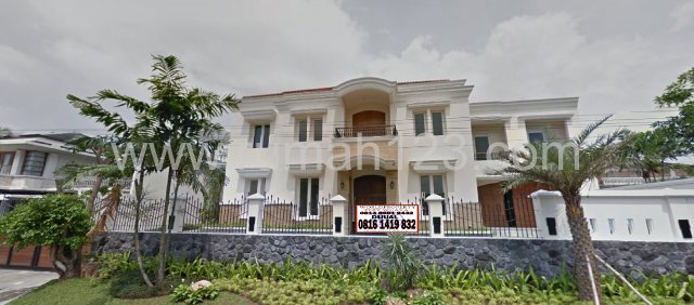 Rumah Cantik Daerah Metro Alam Pondok Indah, Pondok Indah, Jakarta Selatan