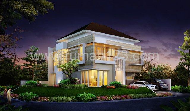 Rumah Baru Sutera Elok, Posisi Hoek, Design Mewah, Alam Sutera, Tangerang