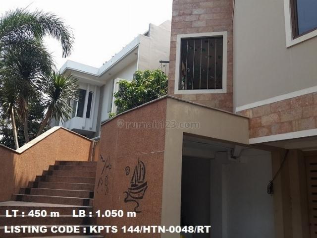 Rumah hoek di Puri Jimbaran, Ancol, Ancol, Jakarta Utara