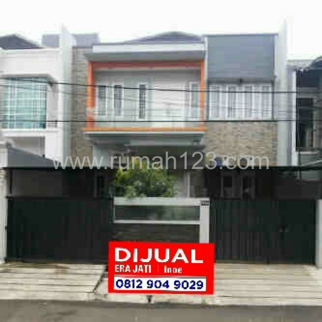 House for sale 2 floors 6 bedrooms hos1711713 for Kitchen set jakarta timur