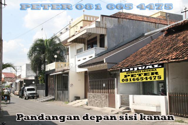 RUMAH +TEMPAT USAHA STRATEGIS, DITENGAH KOTA WOTGANDUL DALAM DEKAT JL. GAJAHMADA SEMARANG, Gajahmada, Semarang