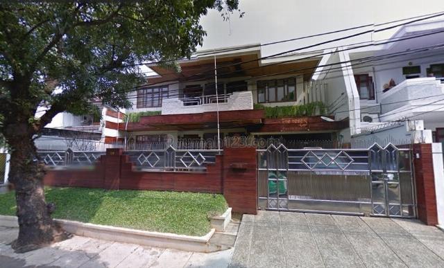 Rumah Daerah Cipaku, Kebayoran Baru, Jakarta Selatan