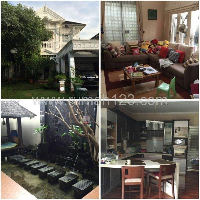 Rumah Siap Huni Di Lingkungan Golf, BSD Victoria Park Lane, Tangerang