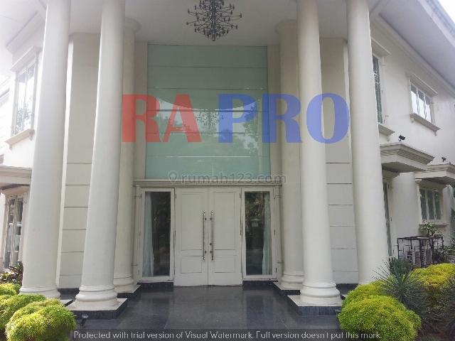 Rumah MEGAH di lokasi premium-TIDAK PERLU DIBELI, Pondok Indah, Jakarta Selatan