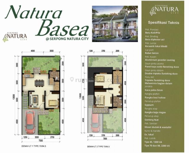 Rumah dijual 2 lantai, 2 kamar hos2104064 | rumah123.com